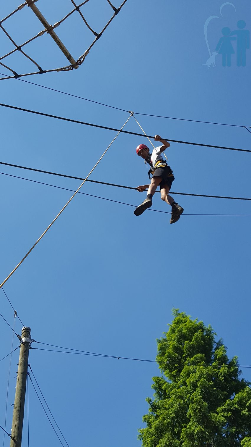 Boulder Und Hochseilgartentag Der Howag Raphaelshaus Electricity In Action Jugendhilfezentrum Dormagen